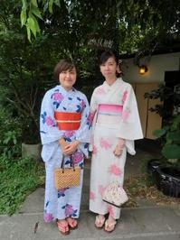 台湾から来られました、暑い一日です。 - 京都嵐山 着物レンタル&着付け「遊月」