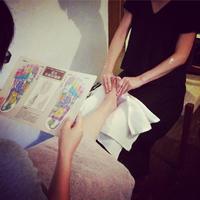 *8月の桜梅桃李の若石マッサージ〜 - salon de thé okashinaohana 可笑的花