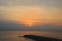 2017 大野海岸 夕焼け7/11 - さんたの富士山と癒しの射心館