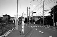 バス停 - そぞろ歩きの記憶