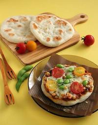 【レシピ】お野菜キーマカレーのもちもちナン!まぁるいナンを焼こう編 - Takacoco Kitchen