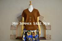"""2017Mid Summer Sale New!...8/2wed"" - SHOP ◆ The Spiralという館~カフェとインポート雑貨のある次世代型セレクトショップ~"
