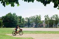 Vito IIIで撮った子供自転車と論文掲載誌の到着 - 照片画廊