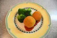 かぼちゃのコロッケ/那須のお土産でお茶タイム - まほろば日記