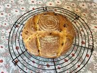 カボチャのカンパーニュとワンプレート - カフェ気分なパン教室  ローズのマリ