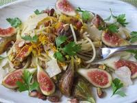 無花果とナッツのパスタ - やせっぽちソプラノのキッチン2
