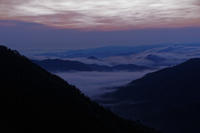 夏の雲海 ~行ったり来たり① - katsuのヘタッピ風景