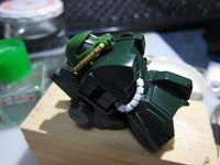 機動戦士Zガンダム 1/144 ハイザック 旧キット 製作中 (3) - DNF