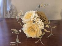 スカビオサのブーケその2 - 布花館へようこそ