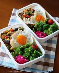 ((;´・ω・`)忍び寄る台風 ✿ bento&晩ご飯♪ - **  mana's Kitchen **