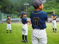 合宿の一コマ - 学童野球と畑とたまに自転車