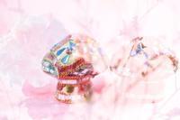 キノコの飾り物☆彡 - 僕の足跡