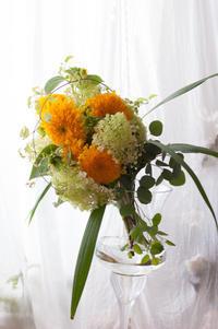 向日葵のブーケ - le jardinet