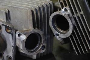 スズキGTサンパチのシリンダー修理。。。 - 硬鉄の森