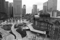 東京駅・丸の内側広場のジオラマ風♪ - 『私のデジタル写真眼』