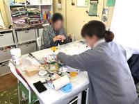 タッセル教室*ほんのり和の香り… - 明石・神戸・姫路・加古川のカルトナージュ&タッセル教室 アトリエ・ペルシュ
