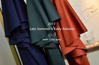 """2017 Late Summer & Early Autumn New!...8/4fri"" - SHOP ◆ The Spiralという館~カフェとインポート雑貨のある次世代型セレクトショップ~"