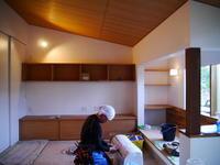 電気工事器具付け - small space ・・・小さな白い家・・・