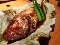のどぐろの煮つけが美味しかった!:個室居酒屋 司 神楽坂飯田橋店 - あれも食べたい、これも食べたい!EX
