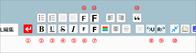 エキサイト編集画面のアレンジ(47) 編集アイコンをフォント描画でアレンジする - At Studio TA