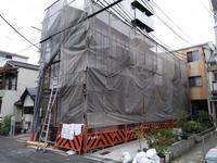 住吉の住宅 新築工事ー外壁下地 - 建築設計事務所と建てる住宅いろいろ。 Coo Planning