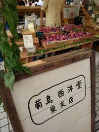 菊島西洋堂東支店のプラム - お弁当と春の空