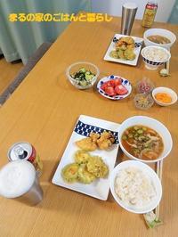 ごはんと味噌汁の日、素麺の日 - まるの家のごはんと暮らし