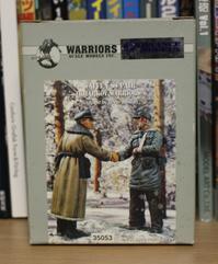 WARRIORS 35053 WAFFEN SS PAIR (KHARKOV WARRIORS) - Post-Retirement Modelling Life