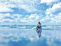 /// まるでウユニ塩湖→実は「鳥取」です 砂丘の知られざる撮影スポット /// - 朝野家スタッフのblog