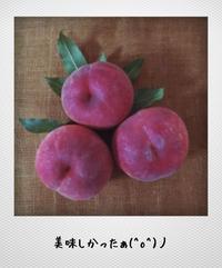 夏の嬉しい贈り物 - yuru run*run Cafe