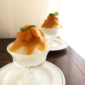 マンゴーかき氷 - Small & Sweet daily~日々のあれこれ