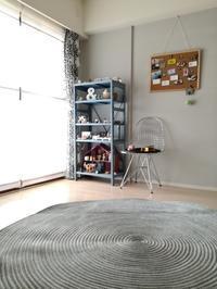 子供部屋。新しい壁紙&チューブラグ☆ - *peppy days*