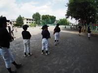 夏戻り、練習 - 学童野球と畑とたまに自転車