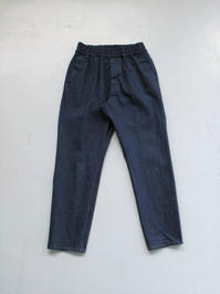 Honor gathering  vintage nep painter denim easy trousers - 『Bumpkins putting on airs』