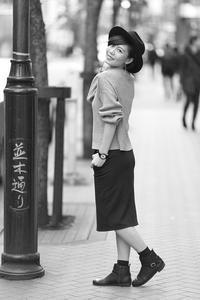 愛梨ちゃん19 - モノクロポートレート写真館