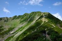 先日の仙丈岳で - アサクフカク