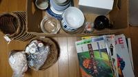 フリマ準備 - 古布や麻の葉