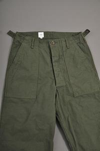 ARAN Fatigue Pants (Olive) - un.regard.moderne