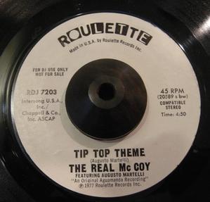 THE REAL Mc COY / TIP TOP THEME -