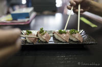 飛騨牛焙り握り寿司と氷あずき - となりのフォトロ