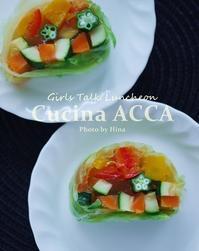 初めての、Cucina ACCA女子会♪ - Cucina ACCA