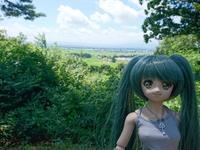 Mayuちゃんと山遊び - そよのドール写真掲示室