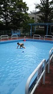 公園プール - ~ワンパク五歳児子育て中~