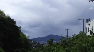 広島は台風が遠ざかりましたが -