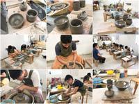 本日の陶芸教室 Vol.733 - 陶工房スタジオ ル・ポット