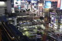 渋谷  見慣れた街の夜景 - スクンビット総合研究所 - Sukhumvit Research Institute