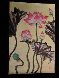 蓮の花・・・No6. - 嵐山ハイブリッド美術館日記