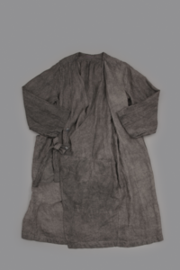 KAPITAL Gaze Linen Herringbone Winery Coat (墨) - un.regard.moderne