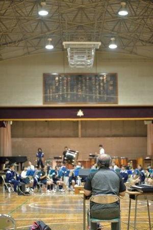体育館練習 - 小平第六中学校吹奏楽部 We Love Brass!!