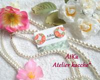 浴衣にぴったり★【手毬】ピアス - Atelier kacche